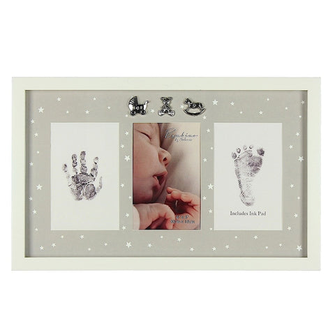 more than just a gift bambino hand and foot print frame