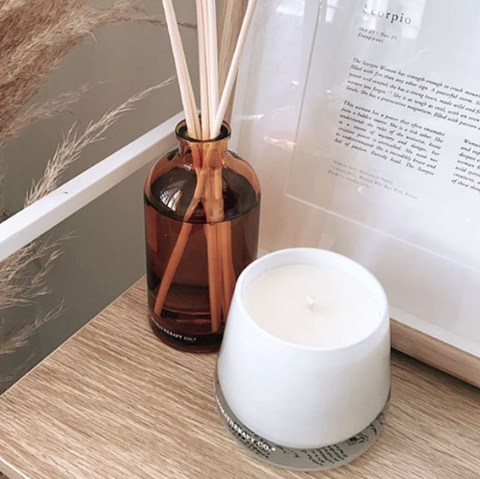 Aromatherapy Co Candle & Diffuser