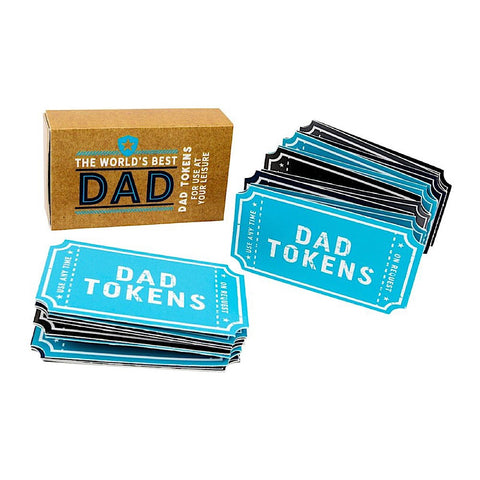 more than just a gift dad treat tokens