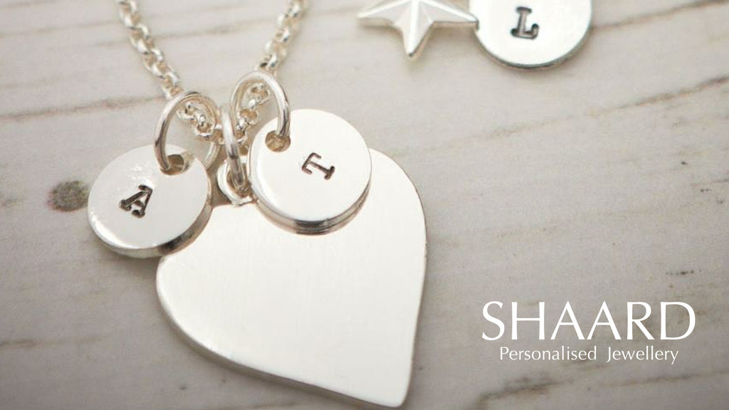 Sharrd Personalised Hand Stamped Silver Plated Jewellery