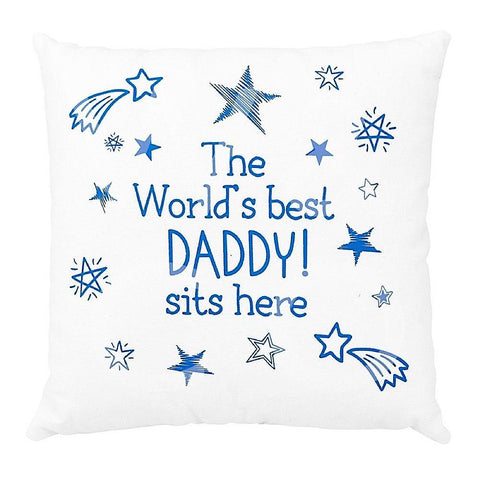 more than just a gift Daddy cushion