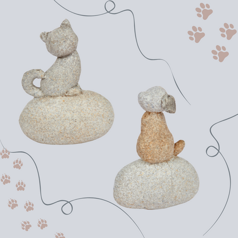 Pebble Dog and Cat