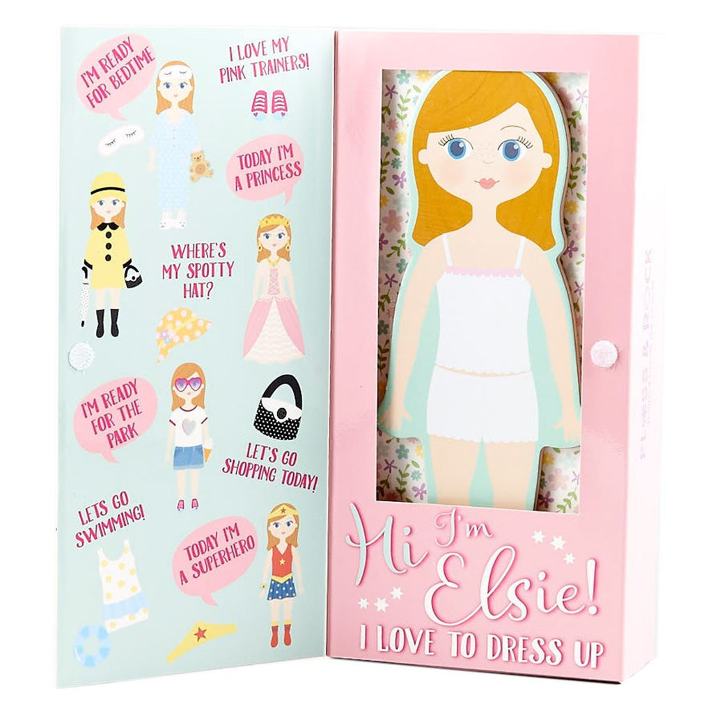 Floss and Rock Elsie Dress Up Doll