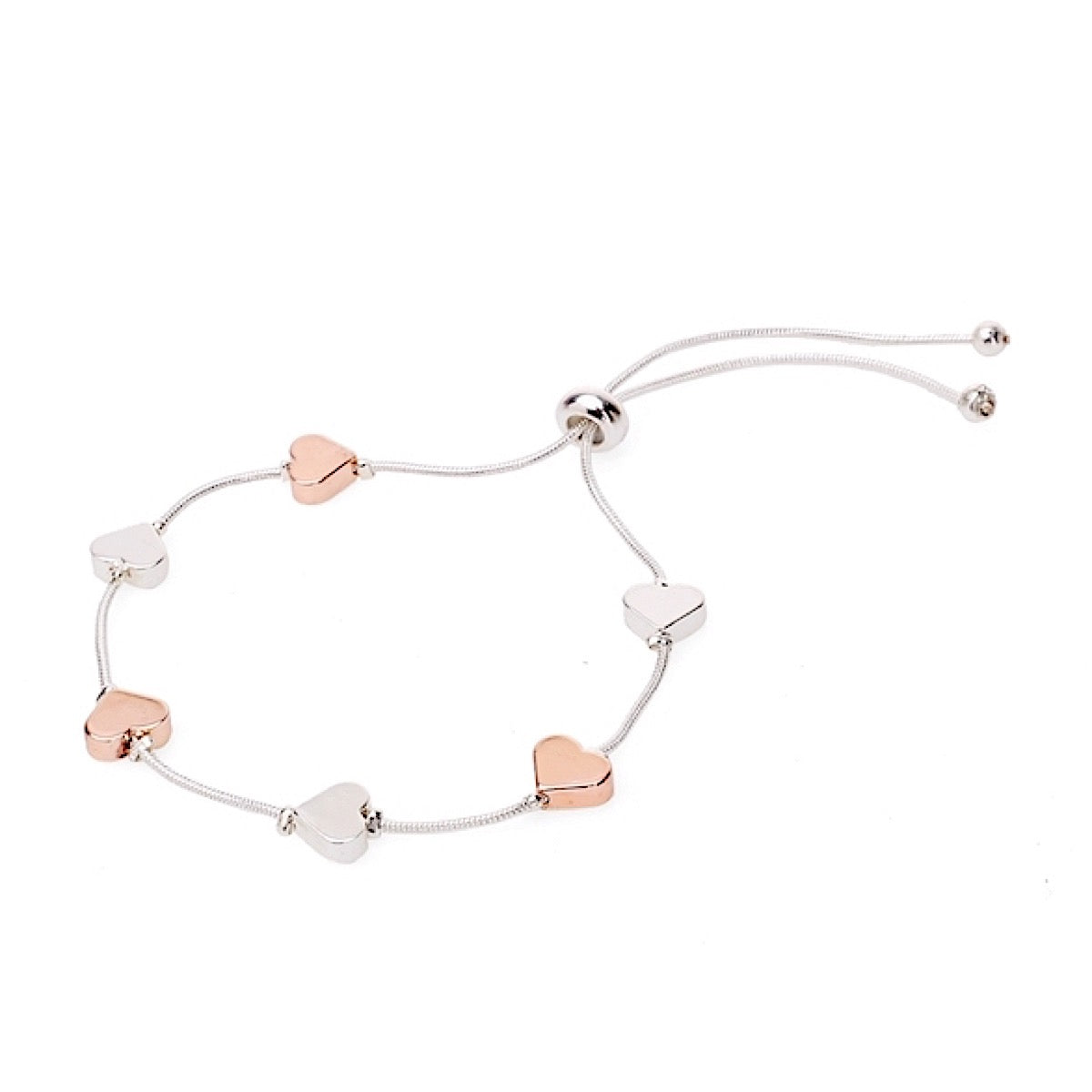Adjustable Heart Bracelet