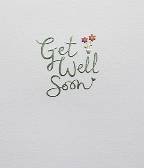 Mimosa Get Well Soon Card