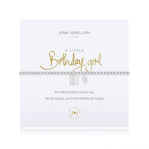 Joma a little Birthday Girl Bracelet