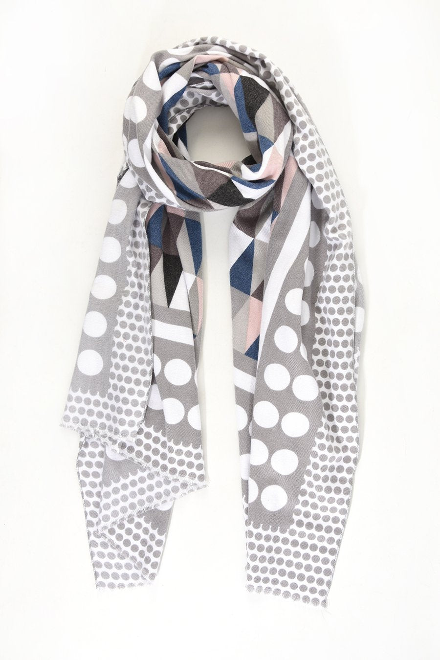 Dots & Triangles Scarf