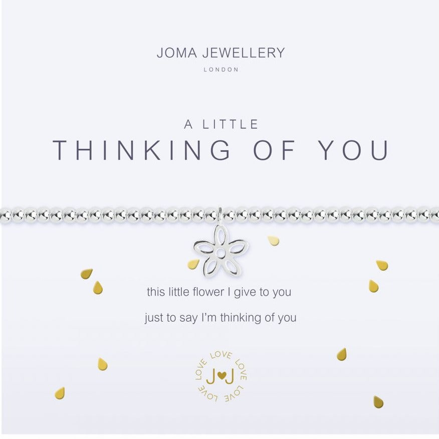 Joma Jewellery a Little Thinking of You Bracelet- Silver