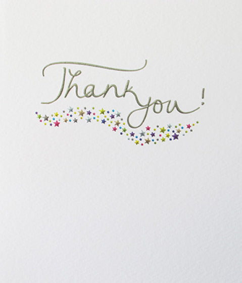 Mimosa - Thank You Card