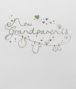 Mimosa - New Grandparents Card