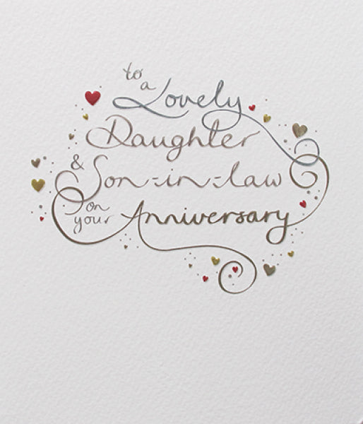 Mimosa - Daughter and Son-in-Law Anniversary Card
