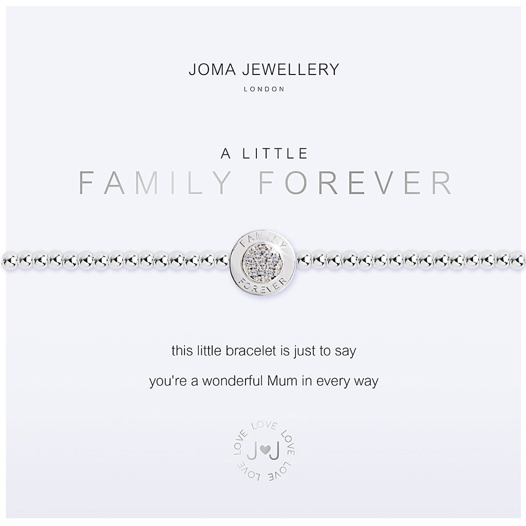 Joma a little Family Forever Bracelet - disc