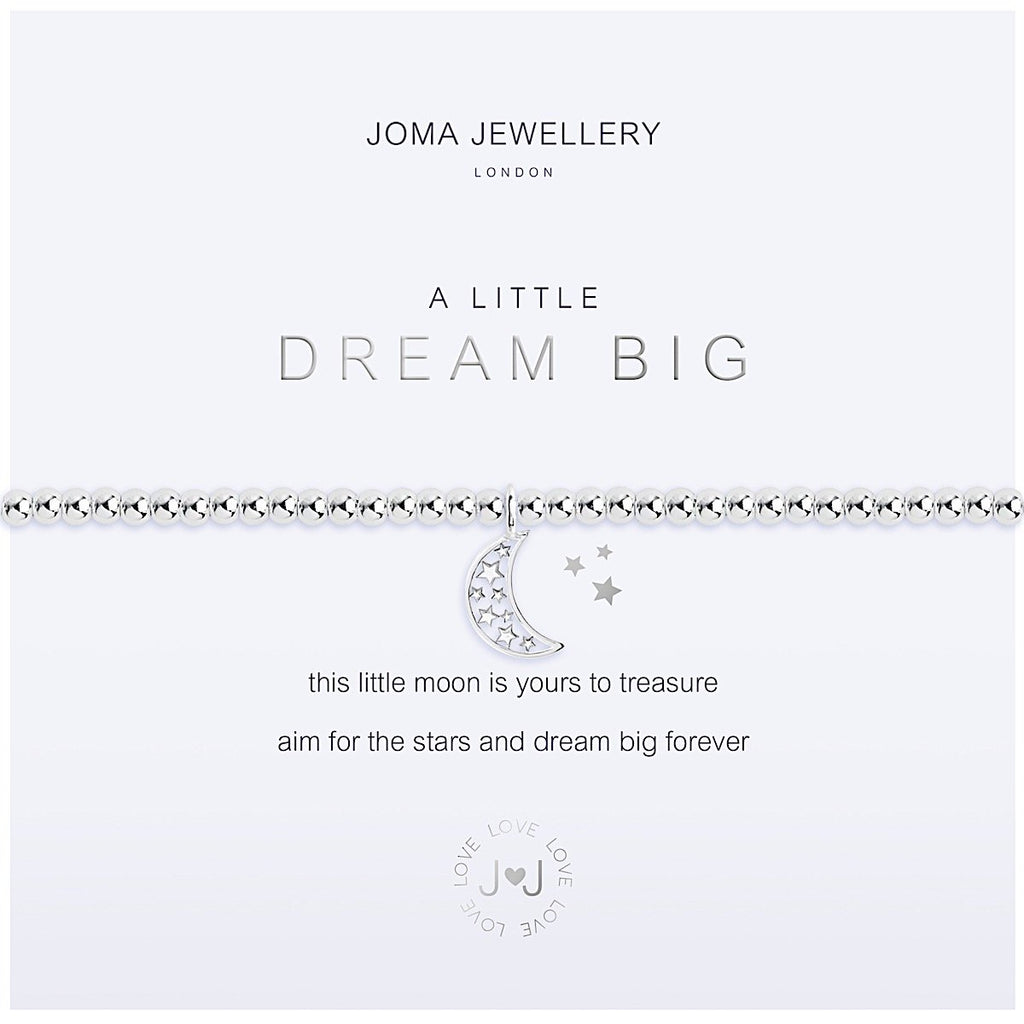 Joma a little Dream Big Bracelet - moon