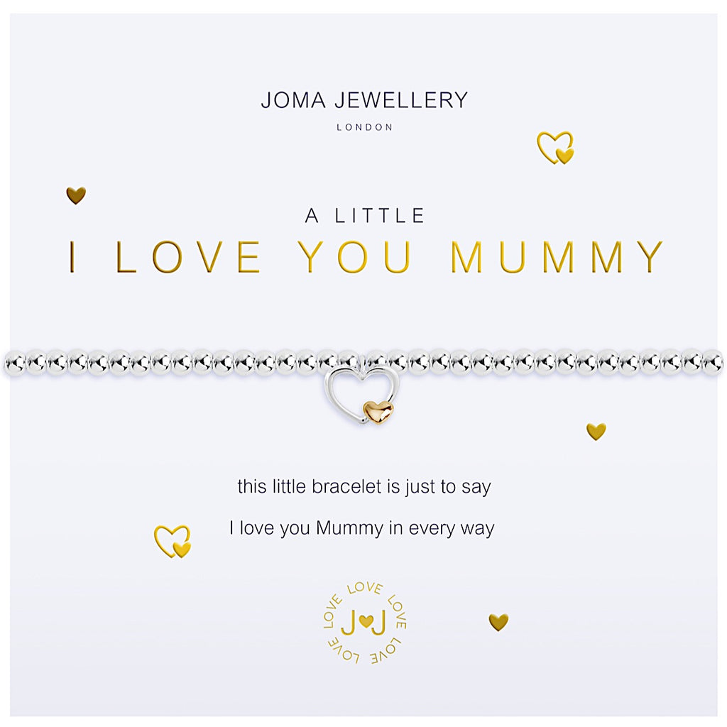 Joma a little I love You Mummy Bracelet - heart