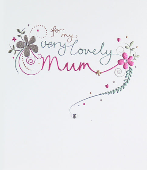 Mimosa Very Lovely Mum Birthday Card