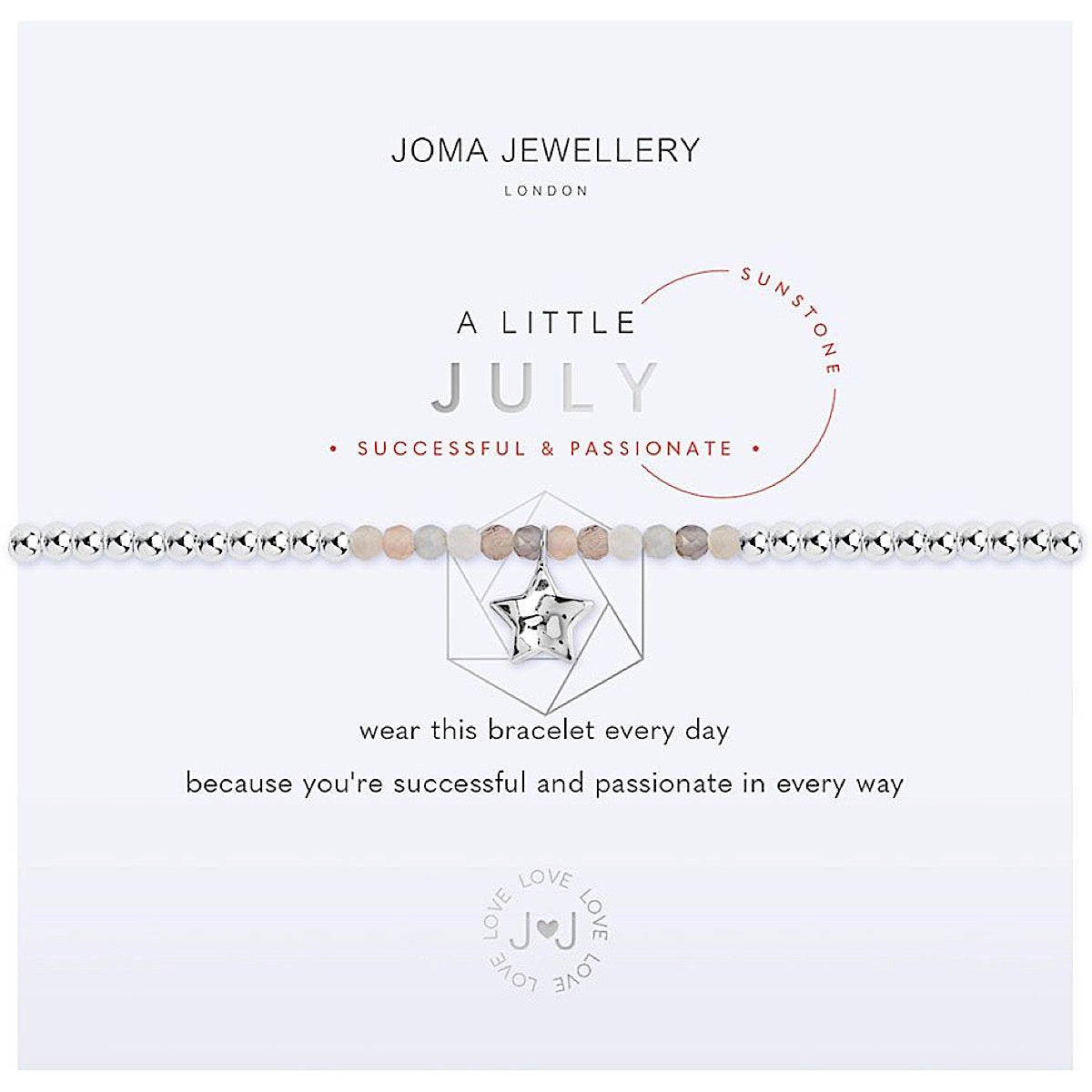 Joma a little July Birthstone Bracelet - sunstone | More Than Just A Gift