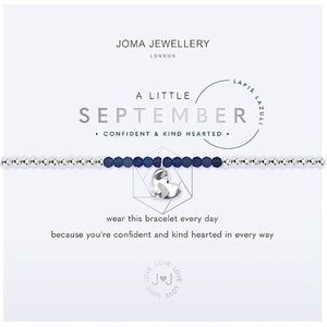Joma a little September Birthstone Bracelet - lapis lazuli | More Than Just A Gift