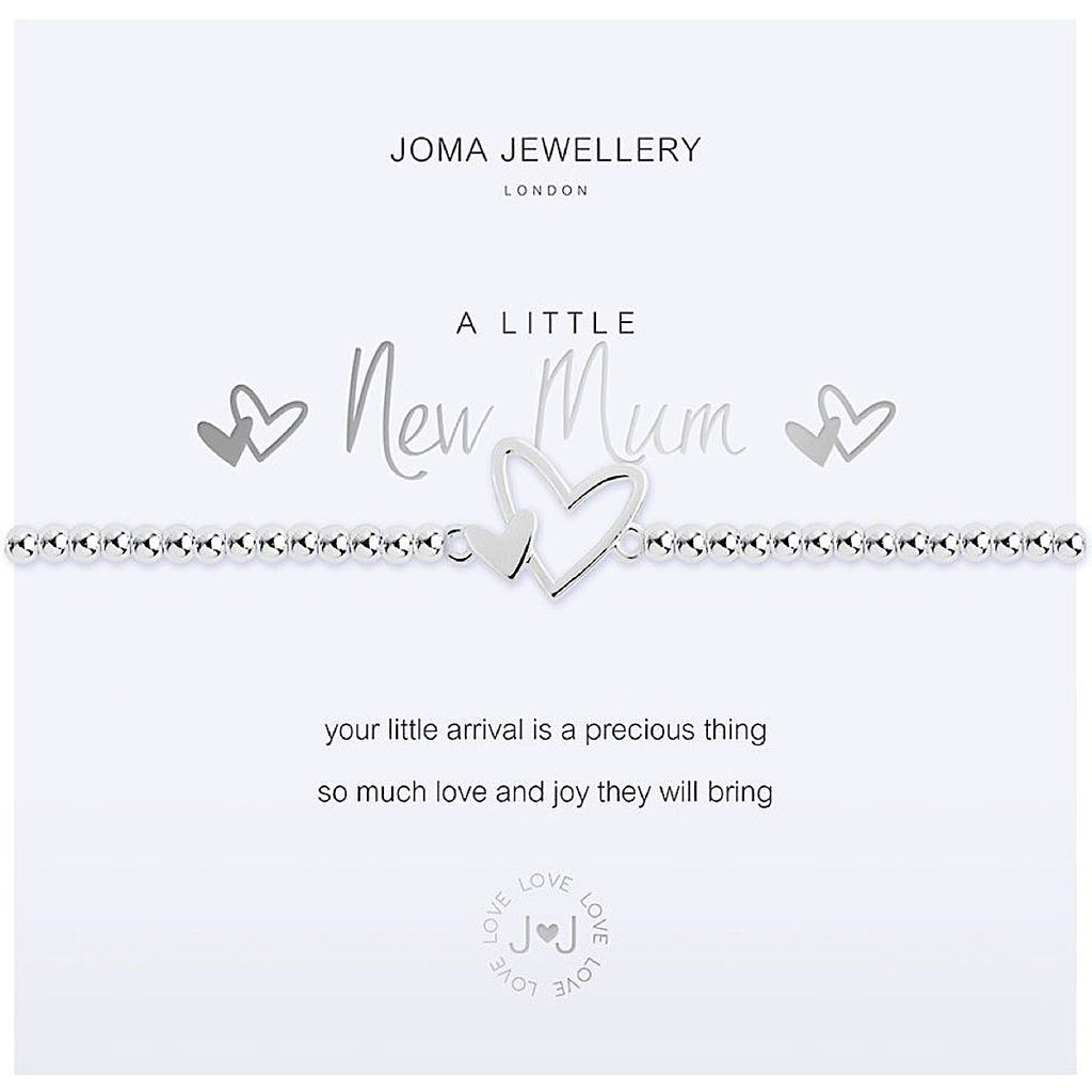 Joma a little New Mum Bracelet - heart | More Than Just A Gift