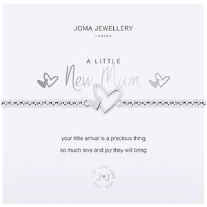 Joma a little New Mum Bracelet - heart