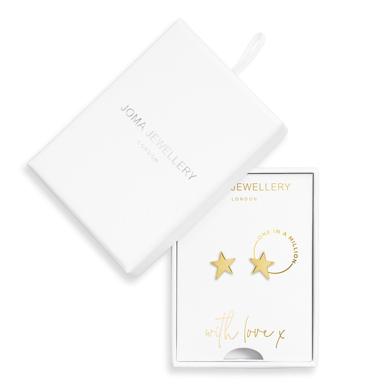 Joma One in a Million Boxed Earrings - star | More Than Just A Gift