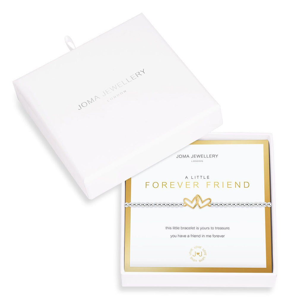 Joma a little Forever Friend Boxed Bracelet - hearts | More Than Just A Gift