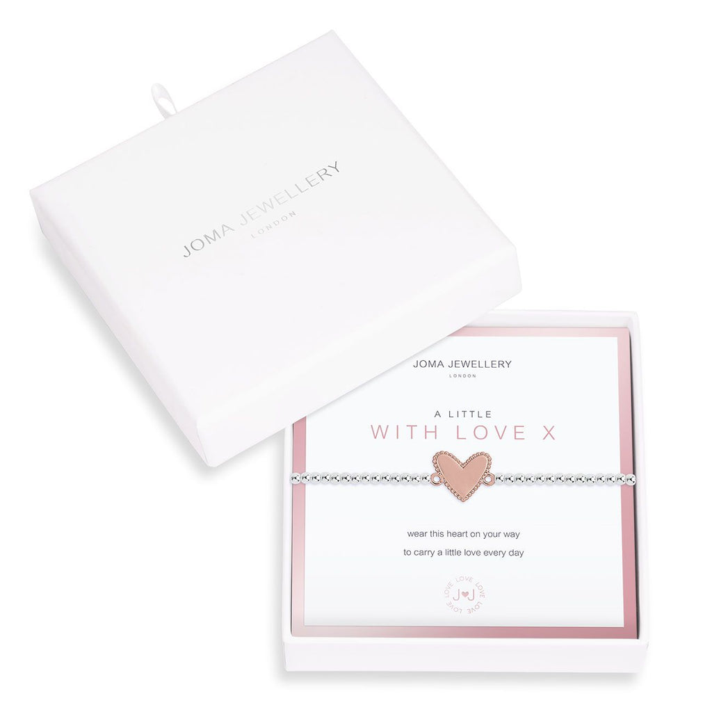 Joma a little With Love Boxed Bracelet - heart | More Than Just A Gift