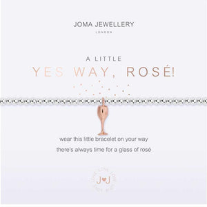 Joma Jewellery a little Yes Way, Rose! Bracelet | More Than Just A Gift | Authorised Joma Jewellery Stockist| More Than Just A Gift