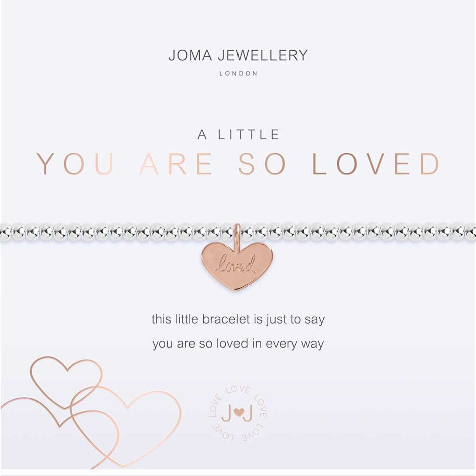 Joma Jewellery a little You Are So Loved Bracelet | More Than Just A Gift | Authorised Joma Jewellery Stockist| More Than Just A Gift