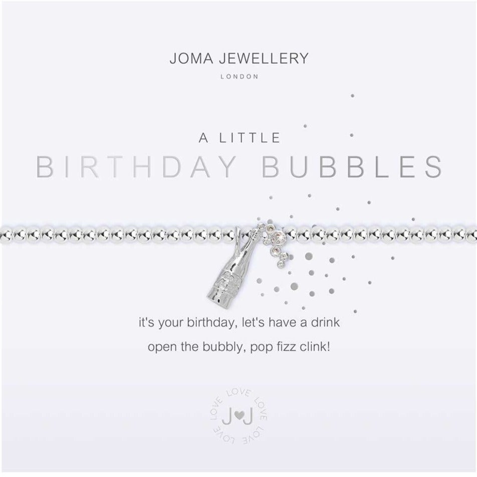Joma Jewellery a little Birthday Bubbles Bracelet | More Than Just A Gift | Authorised Joma Jewellery Stockist| More Than Just A Gift