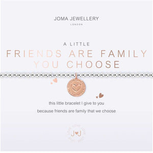 Joma Jewellery a little Friends Are The Family You Choose | More Than Just A Gift | Authorised Joma Jewellery Stockist| More Than Just A Gift