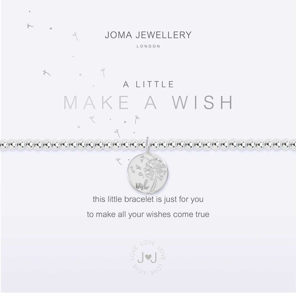 Joma Jewellery a little Make A Wish Bracelet | More Than Just A Gift | Authorised Joma Jewellery Stockist| More Than Just A Gift