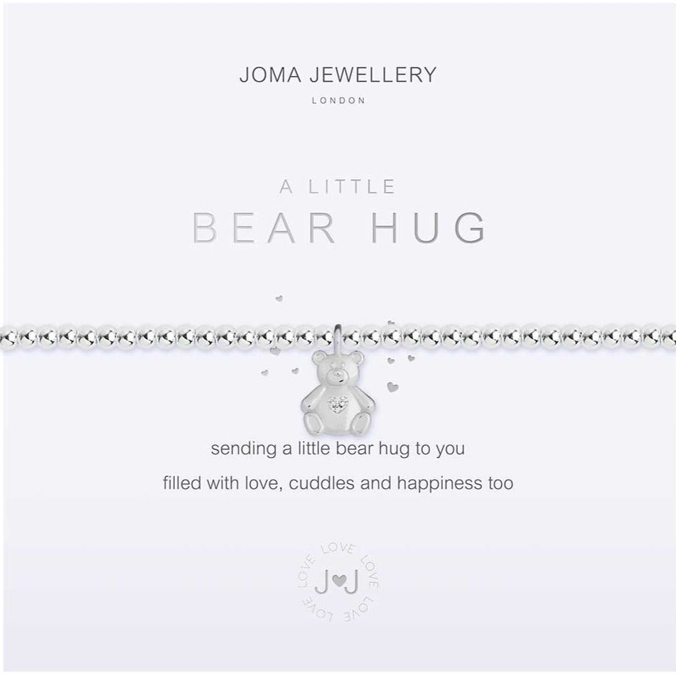 Joma Jewellery a little Bear Hug Bracelet | More Than Just A Gift | Authorised Joma Jewellery Stockist| More Than Just A Gift