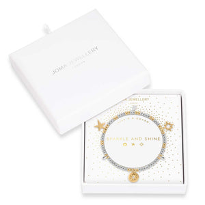 Joma Jewellery Life's A Charm Bracelet Sparkle and Shine | More Than Just A Gift | Authorised Joma Jewellery Stockist| More Than Just A Gift