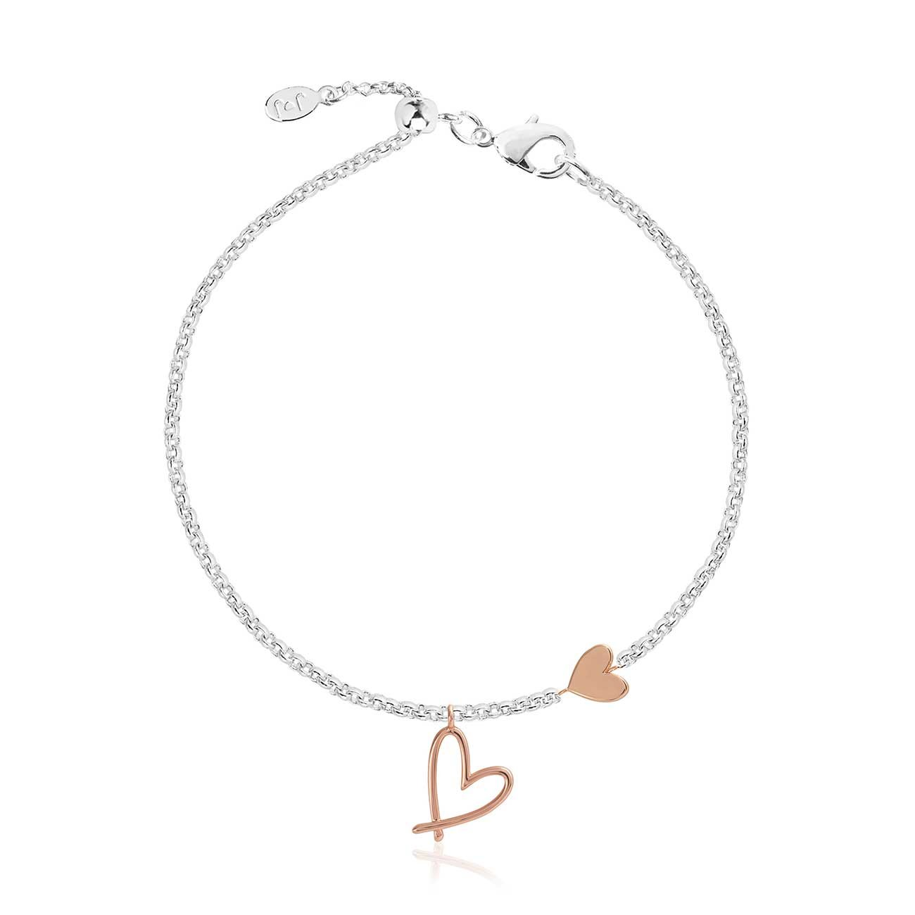 Joma Jewellery Florrie Heart Bracelet | More Than Just A Gift | Authorised Joma Jewellery Stockist| More Than Just A Gift