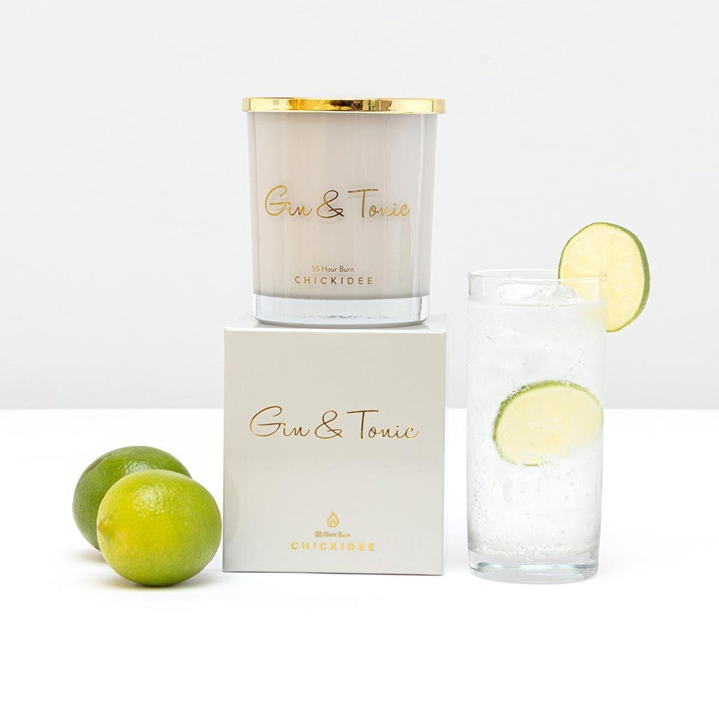 Chickidee Gin & Tonic Candle | More Than Just A Gift
