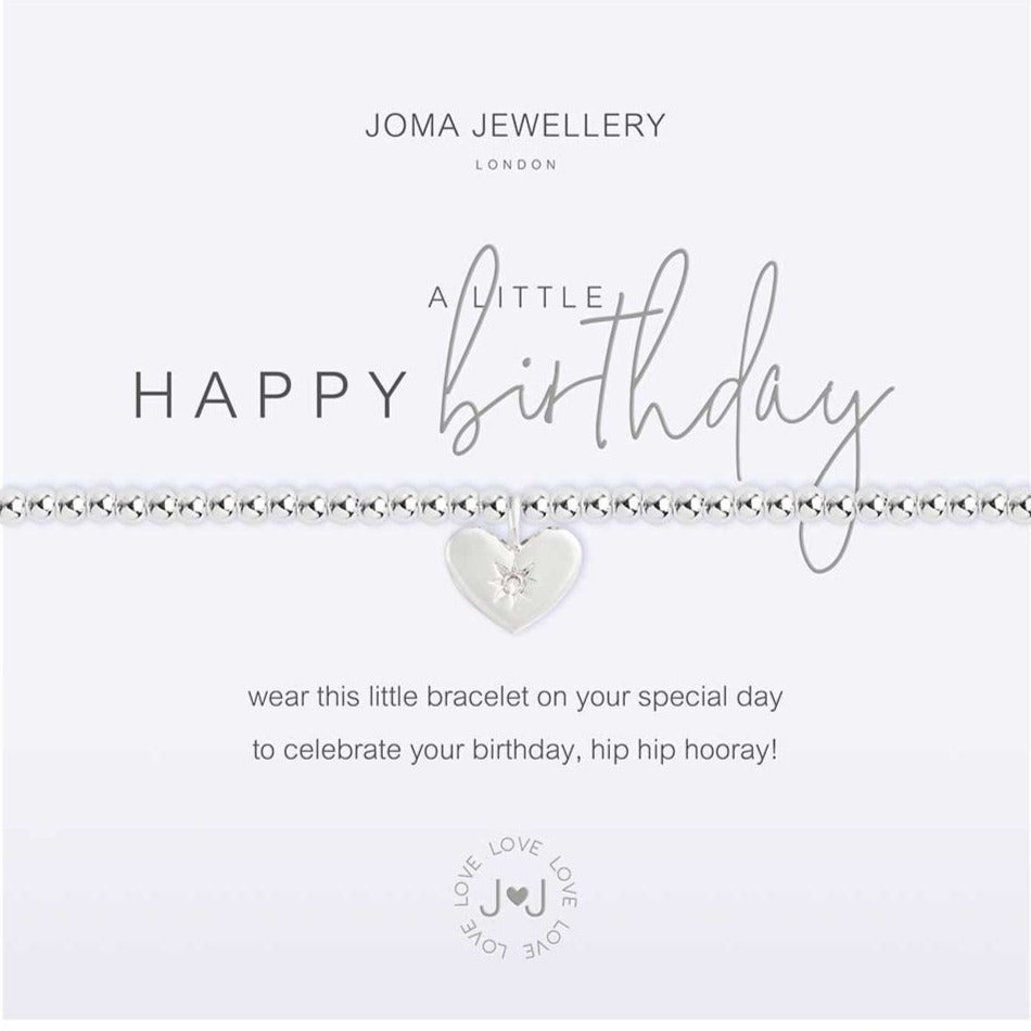 Joma Jewellery a little Happy Birthday Bracelet | More Than Just A Gift | Authorised Joma Jewellery Stockist| More Than Just A Gift