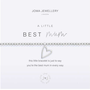 Joma Jewellery a little Best mum Bracelet | More Than Just A Gift | Authorised Joma Jewellery Stockist| More Than Just A Gift
