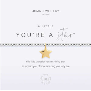 Joma Jewellery a little You're A Star Bracelet | More Than Just A Gift | Authorised Joma Jewellery Stockist| More Than Just A Gift