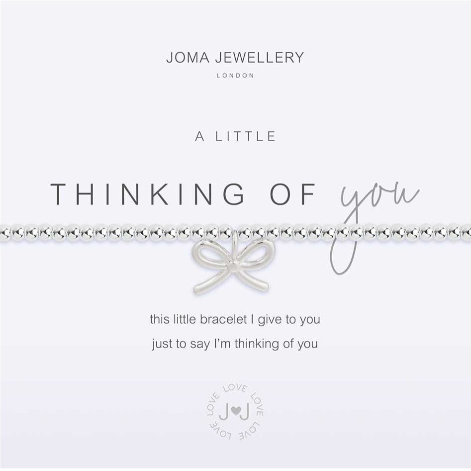 Joma Jewellery a little Thinking Of You Bracelet | More Than Just A Gift | Authorised Joma Jewellery Stockist| More Than Just A Gift