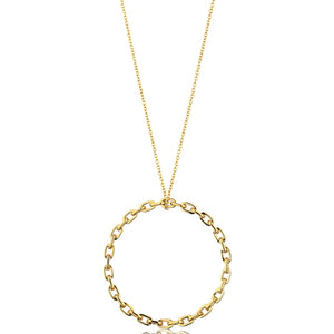 Ania Haie Gold Chain Circle Necklace | More Than Just A Gift