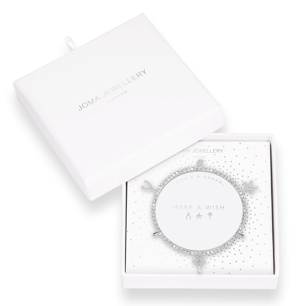 Joma Jewellery Make A Wish Life's A Charm Bracelet| More Than Just A Gift
