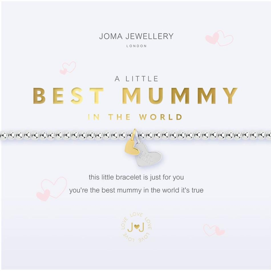 Joma Jewellery Best Mummy In The World Bracelet | More Than Just A Gift