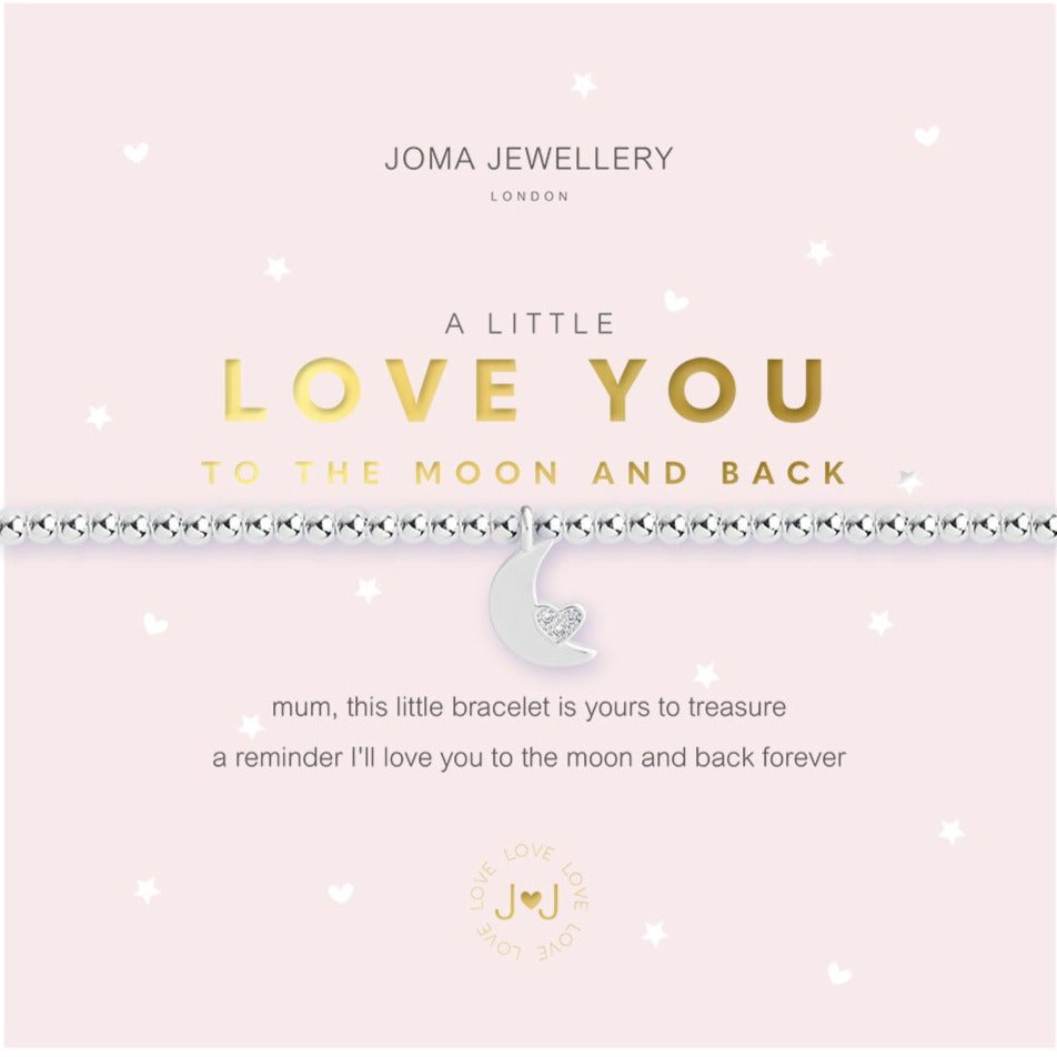 Joma Jewellery Love You To The Moon Bracelet | More Than Just A Gift