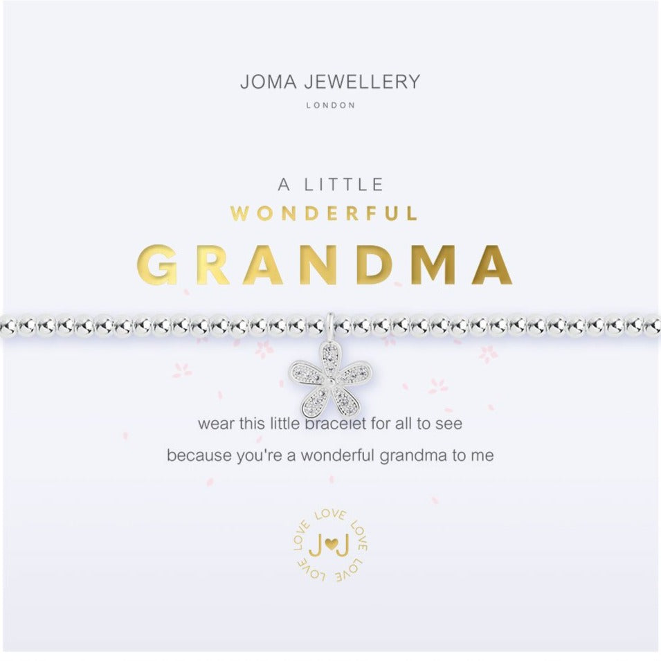 Joma Jewellery Wonderful Grandma Bracelet | More Than Just A Gift