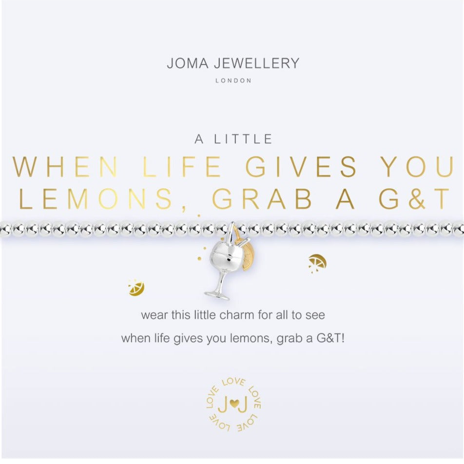 Joma Jewellery  Grab A G&T Bracelet | More Than Just A Gift