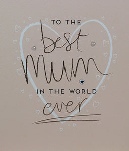 Marzipan Best Mum Birthday Card