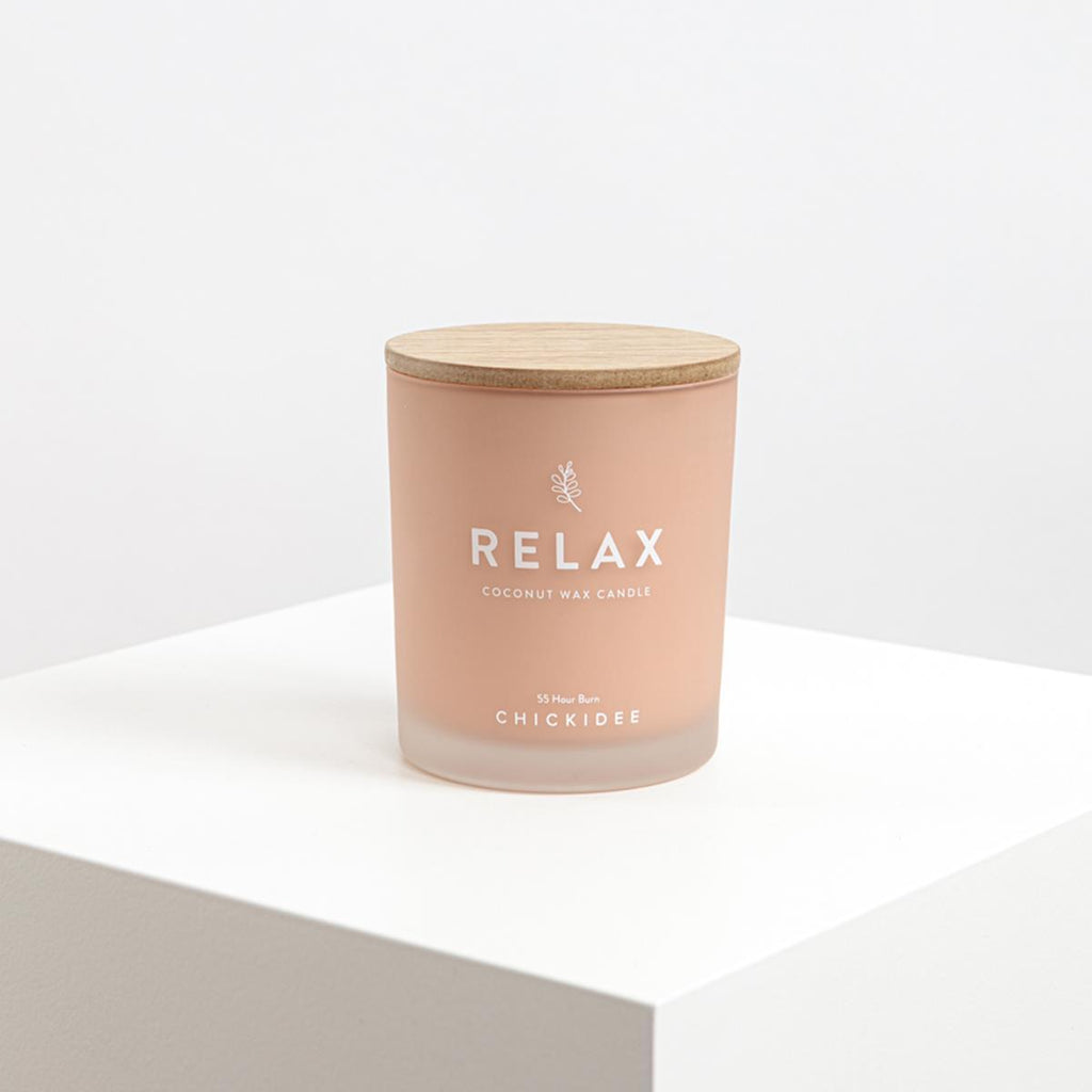 Chickidee Relax Candle | More Than Just A Gift