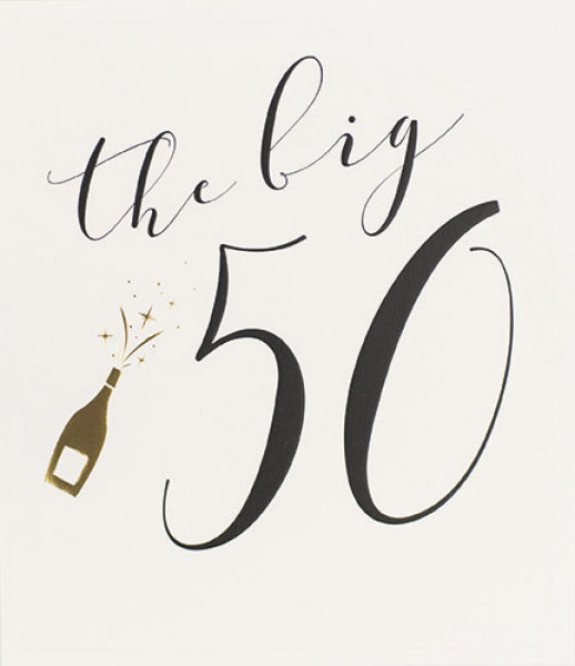 Orchid The Big 50 Card