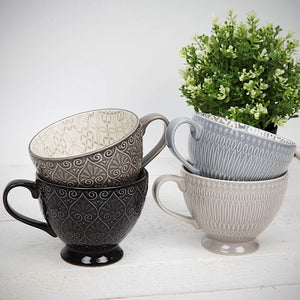 Home Living Grey Tea Cup