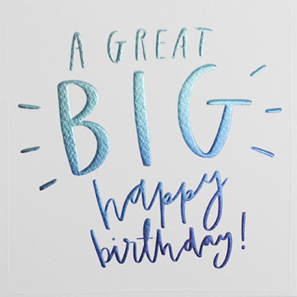 Cloud Nine - A Great Big Birthday Card